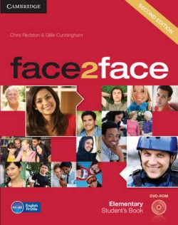 face2face, 2nd edition Elementary Student's Book with DVD-ROM - učebnica (Redston, Ch. - Cunningham, G.)