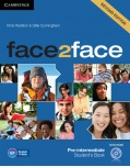 face2face, 2nd edition Pre-intermediate Student's Book with DVD-ROM - učebnica (Redston, Ch. - Cunningham, G.)