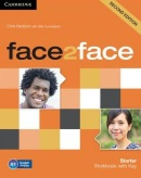 face2face, 2nd edition Starter Workbook with Key - pracovný zošit s kľúčom (Redston, C. - Cunningham, G.)