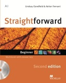 Straightforward 2nd Edition Beginner Workbook + kľúč + CD (Clandfield, L. - Tennant, A.)