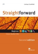 Straightforward 2nd Edition Beginner Class Audio CD (Clandfield, L.)