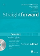 Straightforward 2nd Edition Elementary Teacher's Book Pack (Scrivener, J. - Sayer, M.)