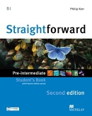 Straightforward 2nd Edition Pre-intermediaty Student's Book + Webcode (Kerr, P.)