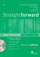 Straightforward 2nd Edition Upper Intermediate Teacher's Book Pack (Scrivener, J. - Bingham, C.)