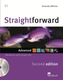 Straightforward 2nd Edition Advanced Workbook + kľúč + CD (Jeffries, A.)