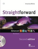 Straightforward 2nd Edition Advanded Workbook bez kľúča + CD (Jeffries, A.)