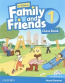 Family and Friends 2nd Edition Level 1 Class Book and MultiROM - učebnica (Simmons, N. - Thompson, T. - Quintana, J.)
