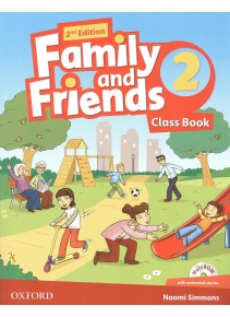 Family and Friends 2nd Edition Level 2 Class Book and MultiROM - učebnica (Simmons, N. - Thompson, T. - Quintana, J.)