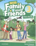 Family and Friends 2nd Edition Level 3 Class Book and MultiROM - učebnica (Simmons, N. - Thompson, T. - Quintana, J.)