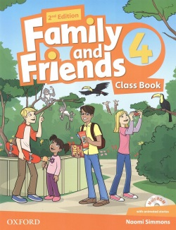 Family and Friends 2nd Edition Level 4 Class Book and MultiROM - učebnica (Simmons, N. - Thompson, T. - Quintana, J.)