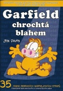 Garfield chrochtá blahem (Jim Davis)
