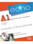 Écho A1 Fichierd'évaluation (photo) + CD (Girardet, J.)