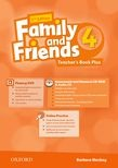 Family and Friends 2nd Edition Level 4 Teacher's Book Plus - metodická príručka (Simmons, N. - Thompson, T. - Quintana, J.)