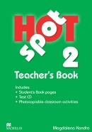 Hot Spot 2 Teacher's Book + Test CD (Colin Granger, Katherine Stannett)