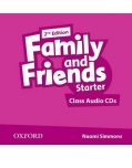 Family and Friends 2nd Edition Level Starter Class Audio CD (2ks) (Simmons, N. - Thompson, T. - Quintana, J.)
