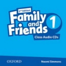 Family and Friends 2nd Edition Level 1 Class Audio CD (2ks) (Simmons, N. - Thompson, T. - Quintana, J.)