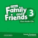 Family and Friends 2nd Edition Level 3 Class Audio CD (2ks) (Simmons, N. - Thompson, T. - Quintana, J.)