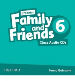 Family and Friends 2nd Edition Level 6 Class Audio CD (2ks) (Simmons, N. - Thompson, T. - Quintana, J.)