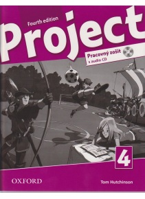 Project, 4th Edition 4 Workbook + CD (SK Edition) + Online Practice (Hutchinson, T.)
