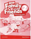 Family and Friends 2nd Edition Level 2 Workbook (SK Edition) - pracovný zošit (Simmons, N. - Thompson, T. - Quintana, J.)