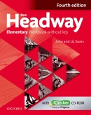 New Headway, 4th Edition Elementary Workbook without Key + iChecker CD (Soars, J. - Soars, L.)