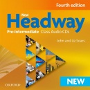 New Headway, 4th Edition Pre-Intermediate Class Audio CD (Soars, J. - Soars, L.)