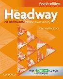 New Headway, 4th Edition Pre-Intermediate Workbook without Key (2019 Edition) (Soars, J. - Soars, L.)