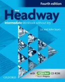 New Headway, 4th Edition Intermediate Workbook without Key (2019 Edition) (Soars, J. - Soars, L.)