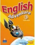 English Adventure 3 Pupil's Book - učbnica (Izabella Hearn)