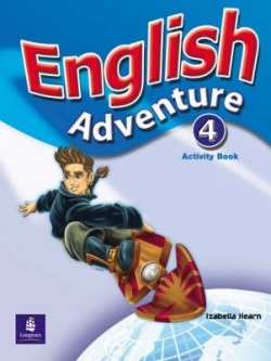 English Adventure 4 Activity Book - pracovný zošit (Izabella Hearn)