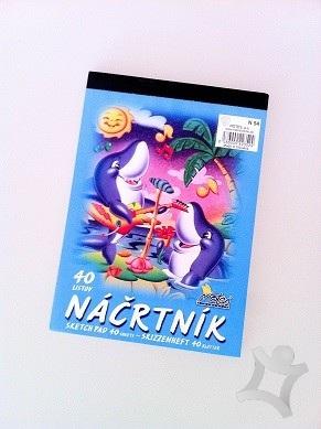 Nacrtnik A5 40l N54 Skolsky Papier Skicar Nacrtnik Vykres