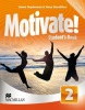 Motivate! 2 Students Book Pack - učebnica (Emma Heyderman, Fiona Mauchline)