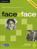 face2face, 2nd edition Advanced Teacher's Book with DVD - metodická príručka (Redston, Ch. - Cunningham, G.)