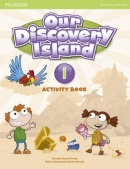 Our Discovery Island 1 Activity Book w/CD-ROM - pracovný zošit (Tessa Lochowski)