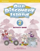 Our Discovery Island 2 Activity Book w/CD-ROM - pracovný zošit (Tessa Lochowski)