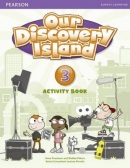 Our Discovery Island 3 Activity Book w/CD-ROM - pracovný zošit (Tessa Lochowski)