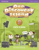 Our Discovery Island 3 Pupil's Book w/pin code - učebnica (A. Feunteun, A. Altamirano, D. Peters)