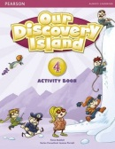 Our Discovery Island 4 Activity Book w/CD-ROM - pracovný zošit (Tessa Lochowski)