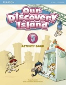 Our Discovery Island 5 Activity Book w/CD-ROM - pracovný zošit (Tessa Lochowski)
