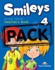 Smileys 4 Teachers Book (interleaved+posters) - metodická príručka (Jenny Dooley; Virginia Evans)