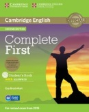Complete First 2nd Edition Student's Book with Answers and CD-ROM (Brook-Hart, G.)