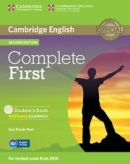 Complete First 2nd Edition Student's Book w/o Answers and CD-ROM (Brook-Hart, G.)