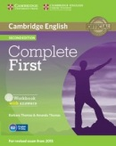 Complete First 2nd Edition Workbook with Answers and AudioCD (Barbara Thomas, Amanda Thomas)
