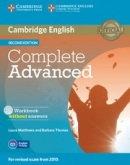 Complete Advanced 2nd Edition Workbook w/o Answers and AudioCD (Laura Matthews, Barbara Thomas)