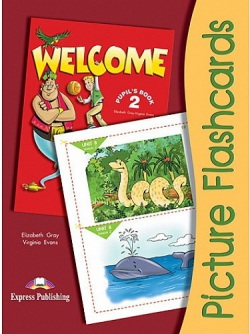 Welcome 2 Picture flashcards - Obrázkové karty (Virginia Evans, Elizabeth Gray)