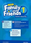 Family and Friends 2nd Edition Level 1 Teacher's Book Plus - metodická príručka (Simmons, N. - Thompson, T. - Quintana, J.)