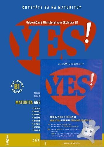 YES! - Angličtina - maturita B1 učebnica + CD DVD (2014)  bdaa486a271
