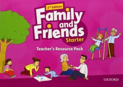 Family and Friends 2nd Edition Level Starter Teacher's Resource Pack (Simmons, N. - Thompson, T. - Quintana, J.)