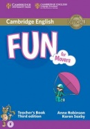 Fun for Movers Teacher's Book (Anne Robinson; Karen Saxby)