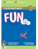 Fun for Flyers Teacher's Book (Anne Robinson; Karen Saxby)